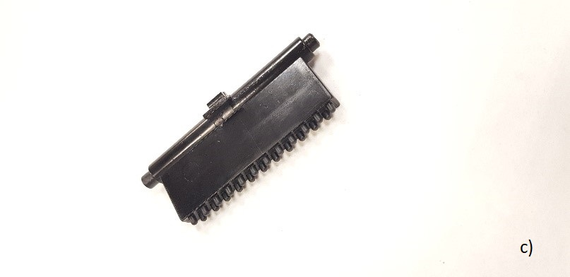 c) comb for very short and fine hair